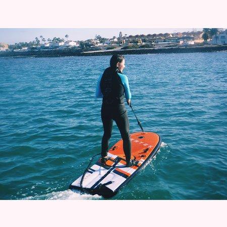 Corralejo, Spain: Jet surf