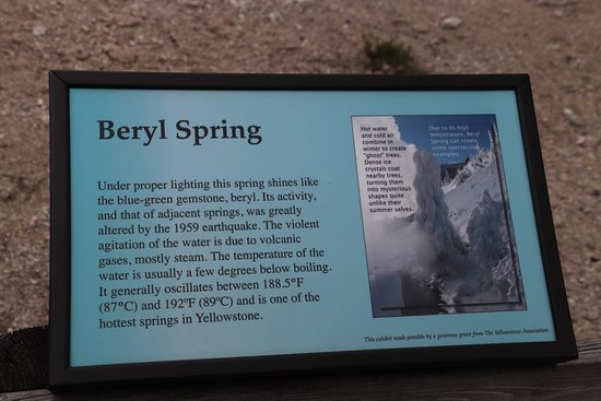 Beryl Spring Yellowstone National Park 2019 All You