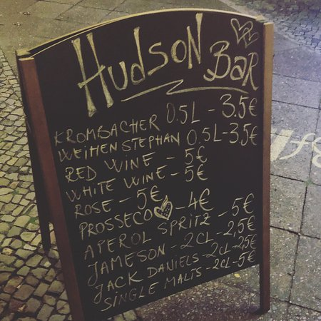 Hudson Bar Berlin