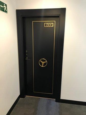 Typical room door