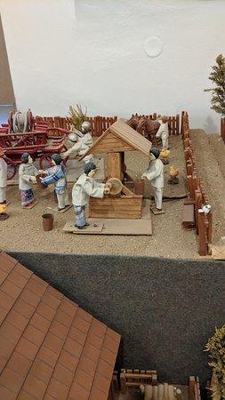 Moravian village models