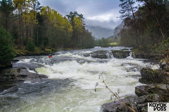 The biggest rapids of the day