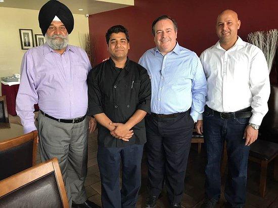 Calgary, Canada: With Alberta premier