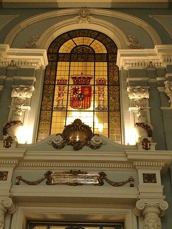 Hall de la Antigua Audiencia Territorial.