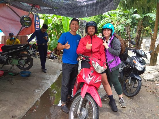 Ninh Thang, Vietnam: Happy Rider happy time😁