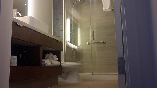 weakish water pressure in shower