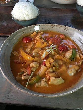 Tropisches Curry