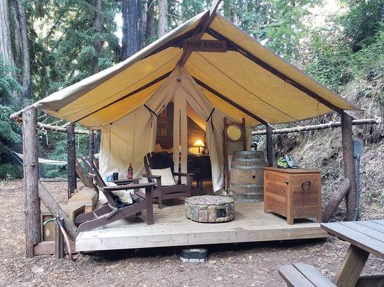 Glamping Tent Picture Of Ventana Big Sur An Alila Resort Tripadvisor