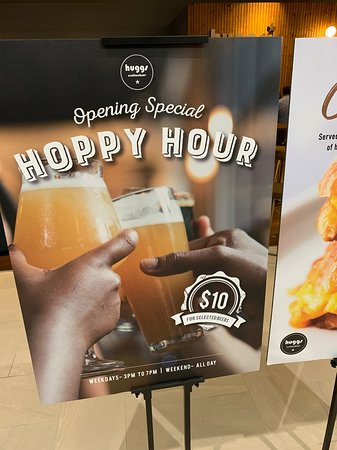 There is also a Happy Hour