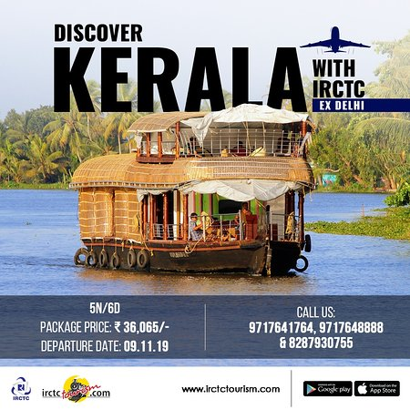 For a rejuvenating experience, journey with #IRCTC in 'God's Own Country - Kerala'. In 6 refreshing days, cover some of the most beautiful places including Tea Museum and Plantation, Mettupetty Dam, Echo Point and many more. To book your package, visit: http://bit.ly/32jUzAR  #tourism #irctc #indianrailways #airtourism #travel