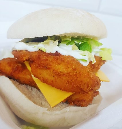 Double Stack Chicken Burger