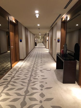 Executive suite , 7th floor hall & colidoor City with sea view