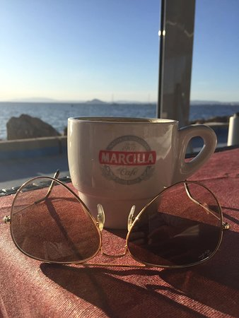 Coffee with a view!