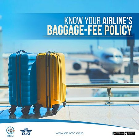 India: Figuring out airline's baggage-policy can be brain-numbing. Be a smart traveller. Don't go overboard when packing to avoid paying extra at the check-in counter. For #TravelTips follow us on IG & to book air tickets @ no hidden charges, visit www.air.irctc.co.in #irctcair #flights #irctc #airtickets #booking #travel #travelholic