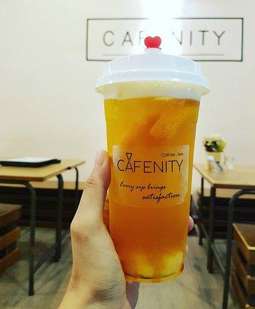 Four Season Peach Iced Tea