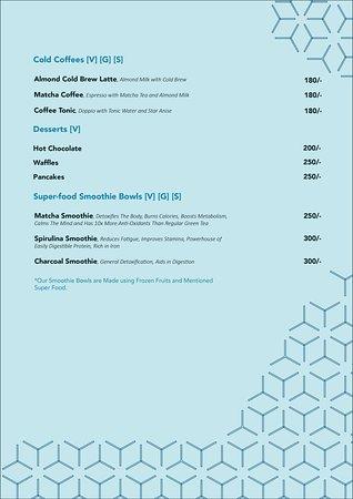 Special Dietary Preferences menu