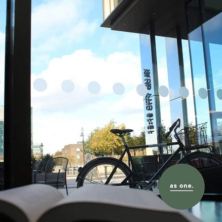 Our new As One Library space. Sit back and unwind