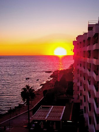 Views from the sea view apartments in the verdemar