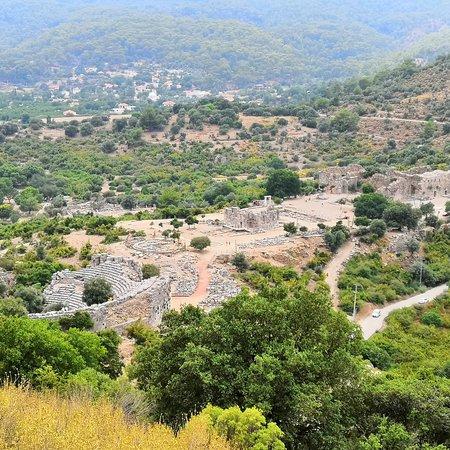 Dalyan, Turkey: Город Дальян. Каунос