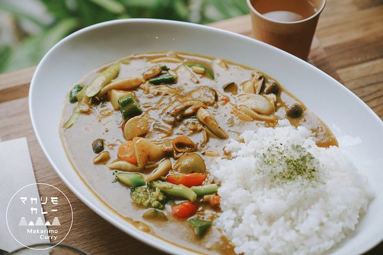 Our spice curry is good for warming your body,  please come and taste our plant-based curry when you visit Kyoto.