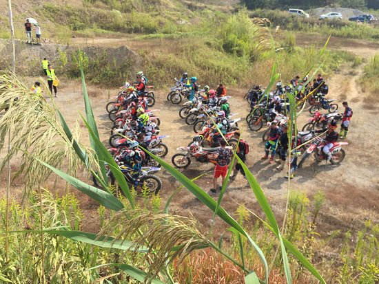 nanjing dirt /off road bike race