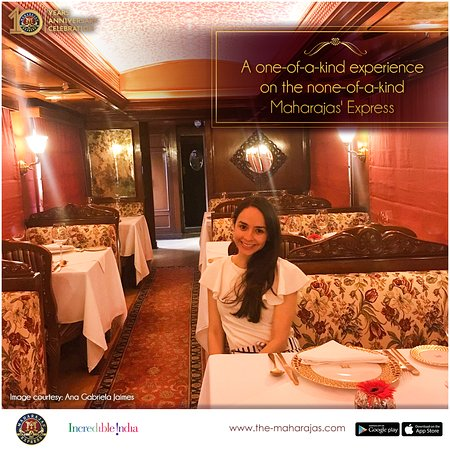 From a royal welcome to decadent #interiors & from authentic #Indian & #internationalcuisines to majestic views outside, everything our guests experience onboard #TheMaharajasExpress is none-of-its-kind. To book this #luxurious experience, visit www.the-maharajas.com Image Courtesy: Ana Gabriela Jaimes #IncredibleIndia #luxurytrain #luxurytravel #travel #tourism #travelindia #royalityontrain