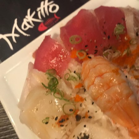 Second Mesa, AZ : Makitto Sashimi plate