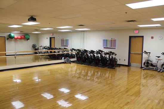 Upstairs Group Exercise Studio A