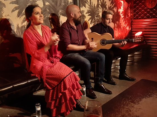 Flamenco show part 1