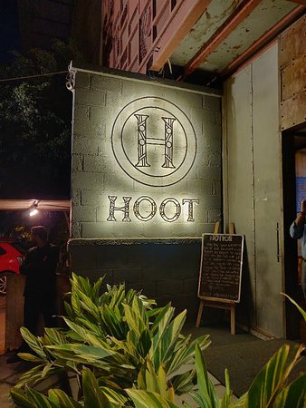 Sunday evening at Hoot with Thetechnifoodie