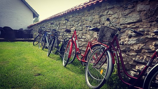 Rent a bicycle and discover the island