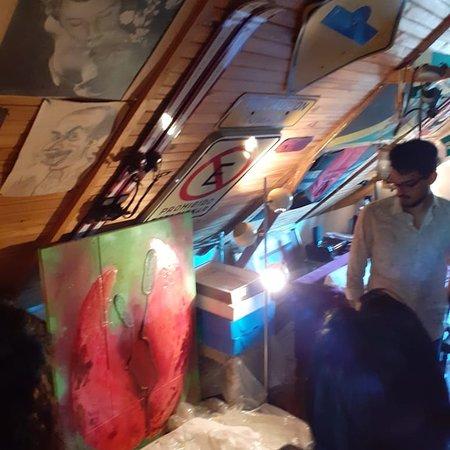 סן איזידרו, ארגנטינה: Visiting Carolina Di Paola Art Studio