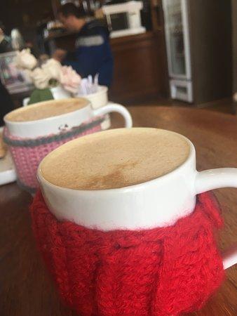 Spiced Milk, leite. café e especiarias