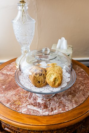 Fresh Baked Complimentary Cookies Daily!!