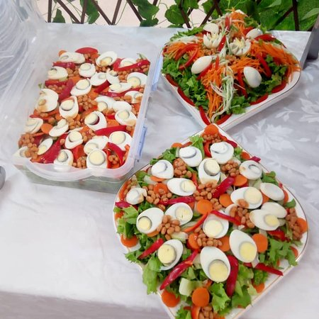 Teshie, Ghana: Healthy and yummy meal available
