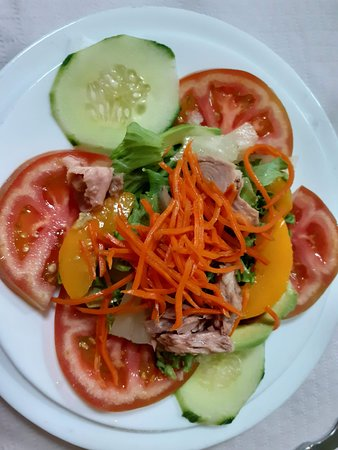 Playa San Juan, Espanha: Salad starter
