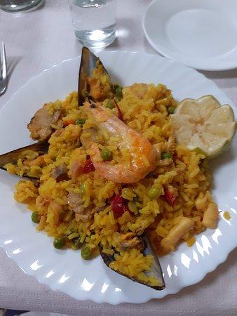 Playa San Juan, Espanha: Paella main course