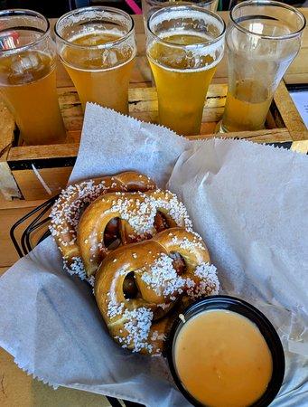 Pretzels + Beer = HEAVEN!