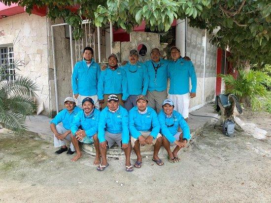 Punta Allen, Meksiko: un personal mu amigable
