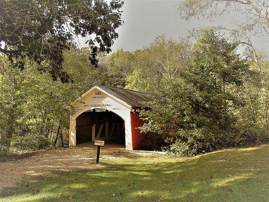 Bloomingdale, IN: Narrows Covered Bridge