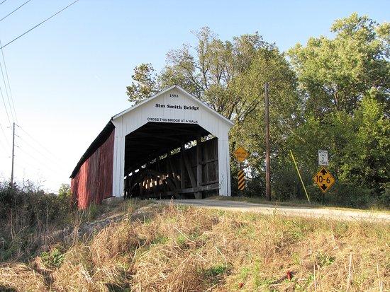 Rockville, IN: Sim Smith Covered Bridge
