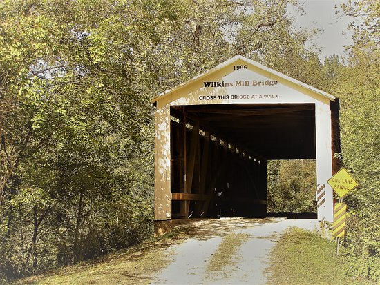 ‪Wilkins Mill Covered Bridge‬