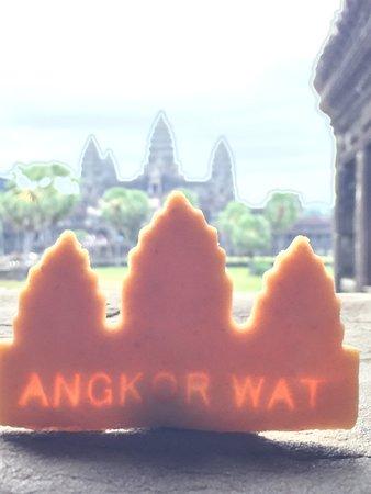 Siem Reap, Camboya: Angkor Cookies  at Angkor Wat