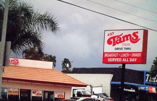 Tams Near Me >> Tams Burgers Whittier Menu Prices Restaurant Reviews