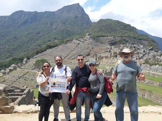 """Passeio em Machu Picchu  - George William de Lira e Familia"""