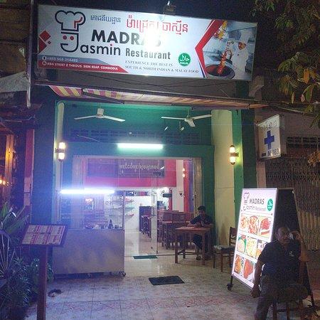 Siem Reap, Camboya: Madras Jasmin Restaurant