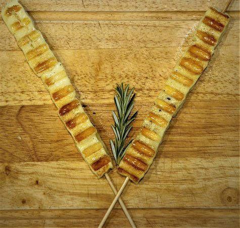 Halloumi Cheese with rosemary