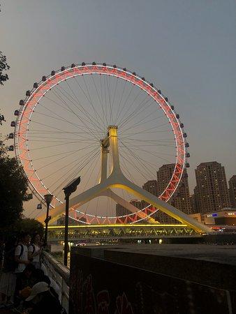 Ferris wheel, Eye of Tianjin