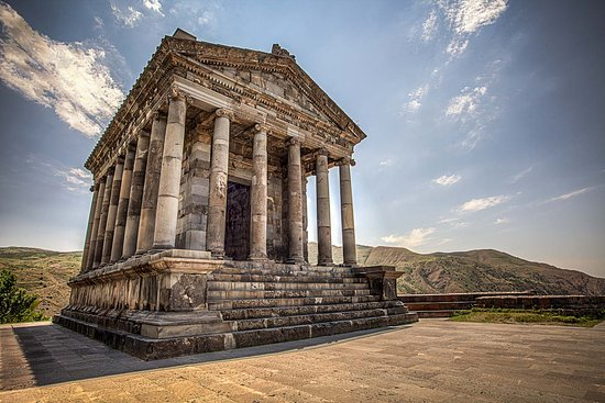 GARNI temple is the only remaining intact model of Hellenistic architecture in Armenia.The temple was dedicated to Mythra, a deity popular in the Near East which became the patron goddess of the Roman Empire in the period before Christianity.Garni is remarkable with a number of historical and architectural monuments of the Hellenistic and early Christian era. Moreover, there you will find the ruins of the royal palace and baths built according to the Roman methodology.
