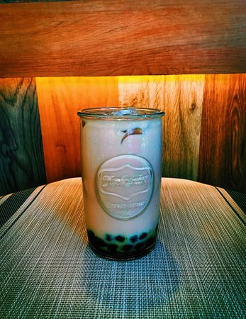 Authentic Taiwanese Milk Tea with Pearl. Available at the cafe'